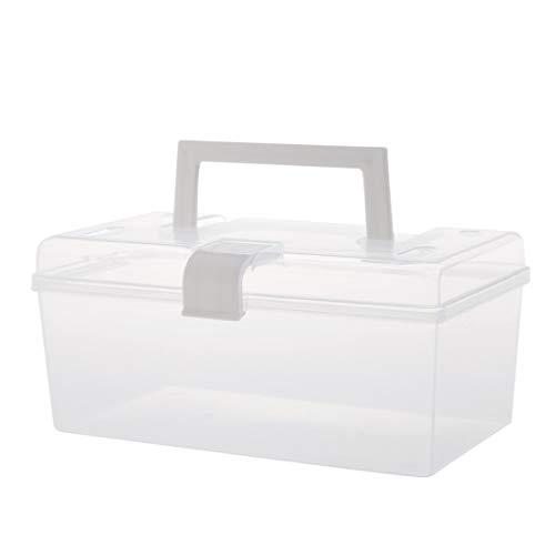 GODNECE Medizinbox Hausapotheke Box Erste Hilfe Schachtel mit Griff