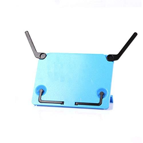 yamysalad Klappbarer Notenständer/Schreibtisch Notenständer/klappbar tragbar/Schreibtisch Multifunktions-Regal für Klavier/Gitarre (1 Stück) blau -