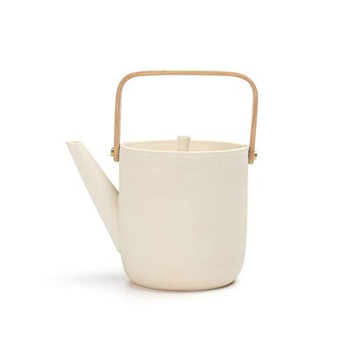 Electric Ceramic Stove Boiling Teapot Ceramic Retro Kung Fu Tea Set Household Portable Kettle Large Beam Pot Single Pot Quart Flame Top