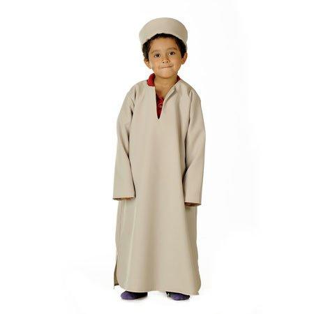 Muslim Für Jungen Kostüm - Jungen Muslim Boy Kostüm 5-7 Jahre [Spielzeug]