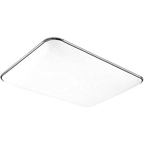 SAILUN 48W Ultra delgado LED Blanco Frío Moderno Lámpara De Techo Lámpara De Techo Pasillo Salón Cocina Dormitorio De La Lámpara Ahorro De Energía De Luz De