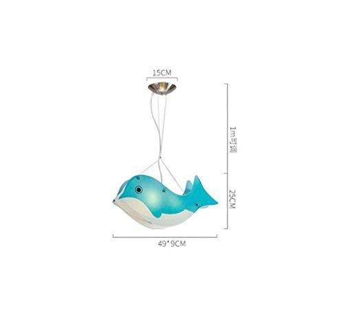 MJY Kronleuchter für Leds, Leiter von 2 bis 5 Kindern \'S Zimmer Junge Mädchen Preis Kronleuchter Lichter Lichter Gitarre Dolphins Hubschrauber Boot Kronleuchter E27 Wählen,E