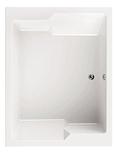 Acryl - Badewanne basinO I 190 x 145 cm I Weiß I Wanne I Badewanne I Bad I Badezimmer