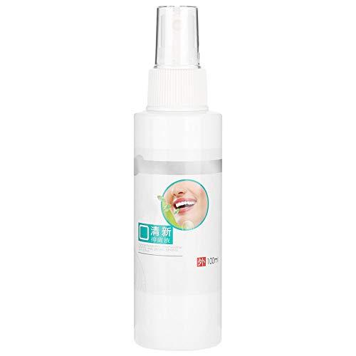 Enjuague bucal 100 ml Aliento fresco Enjuague bucal Antibacterial Espray de cuidado bucal