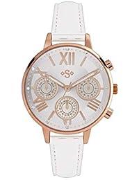 Spirit Lux 331446644 - Reloj de Pulsera para Mujer, Oro Rosado, Adorno de Piedra