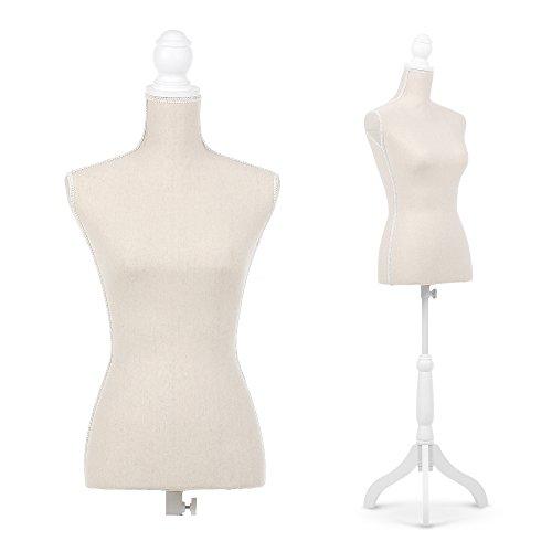 maniquí de costura busto femenino