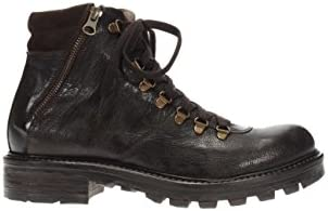 Negro Giardini – Zapatos Hombre Scarponcino a604660u-300 Botas de Piel
