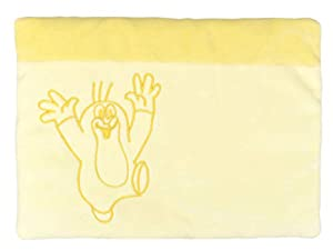 MU mubrno 95905a cojín 32x 22cm Baby Topo Amarillo