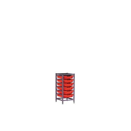 Gratnells Aufbewahrungskisten 1325bf2b Low Single unter Bench Set, beige (Lagerung Bench Amazon)