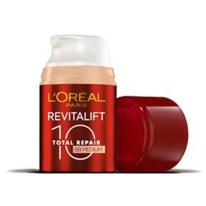 L'OREAL - Crème de Jour - Anti rides - Revitalift Total Repair 10 BB crème - Teinte Medium