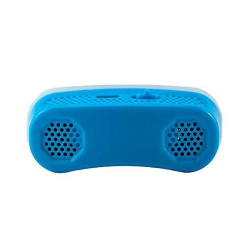 LouiseEvel215 Micro CPAP Anti Schnarchen Elektronisches Gerät für Schlafapnoe Stop Snore Aid Stopper
