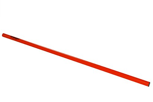 Slalomstangen_Hürdenstangen_Trainingsstangen 1 Meter in rot von athletikor (Rot, 1 Stange)