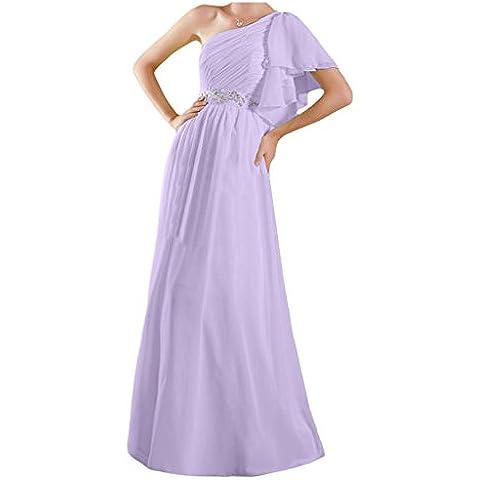 Toscana sposa adorabile la-spalla abiti da sera Chiffon lungo prom