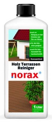 norax Holzterrassen Reiniger 1 l - Entfernt mühelos hartnäckigen Schmutz, Gebrauchsspuren &...