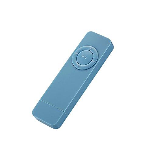 Mp3-player 512 Mb Flash-speicher (Digital U Disk Tragbarer MP3-Player mit 512MB Speicher und verlustfreiem Sound blau)