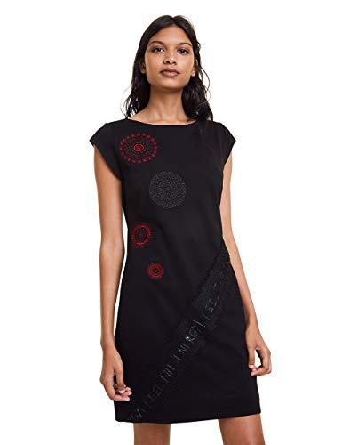 Desigual Damen Dress Briana Kleid, Schwarz (Negro 2000), (Herstellergröße: XX-Large)