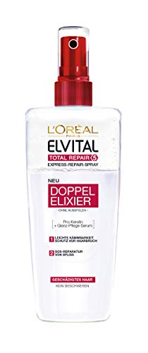 L\'Oréal Paris Elvital Total Repair 5 Biphase Kur, 3er Pack (3 x 200 ml)