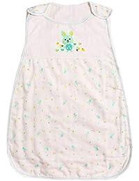Vandesun - Saco de dormir para bebé (2,5 tog, 2 capas, unisex, para recién nacidos, de 0 a 3 años, diseño de conejo,…