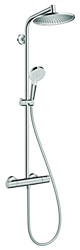 Hansgrohe Colonne de Douche Showerpipe Crometta S 240 Mitigeur Thermostatique Douche Chrome 27267000