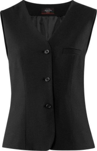 GREIFF Damen-Weste Anzug-Weste PREMIUM comfort fit - Style 1243 - schwarz - Größe: 48