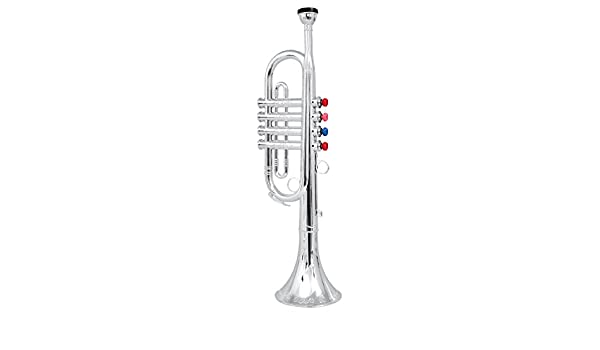 6f71c6f4d15 Buy Click N  Play Metallic Silver Trumpet Horn with 4 Colored Keys Online  at Low Prices in India - Amazon.in