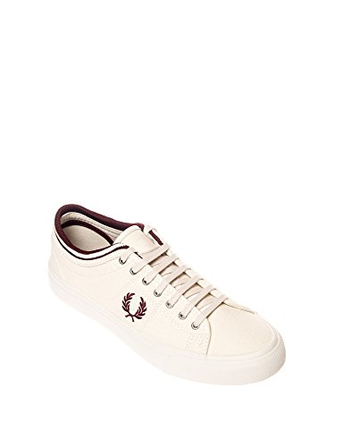 Fred Perry Men's Kendrick Men's White Sneakers Canvas White