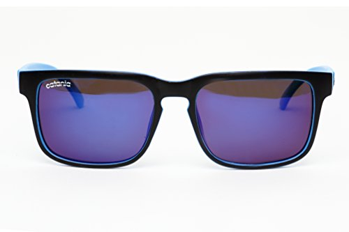 Catania Occhiali ® Polarised Sunglasses - New Season Collection 'Wayfarer Style' Sunglasses (Inc. Case) Polarized Lenses (Lightweight Design - Suitable for Sports)