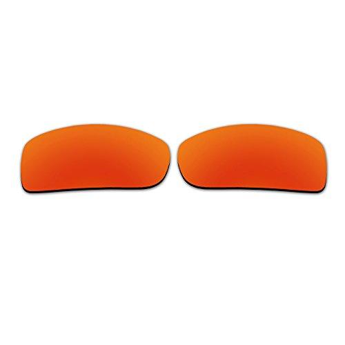Polarisierte Ersatzgläser für Spy Optic Oasis Sonnenbrille Fire Red