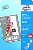 """Avery Zweckform© 2789-40 Inkjet Flyer-Papier, DIN A4, beidseitig beschichtet - gl""""nzend, 180 g/mý, 40 Blatt"""