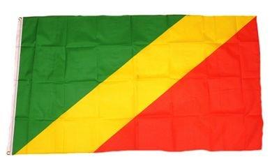Fahne / Flagge Kongo Brazaville 90 x 150 cm Flaggen