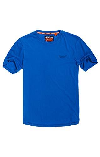 Superdry Herren ORANGE Label LITE Tee T-Shirt, Blau (Deep Electric Blue J4X), 56