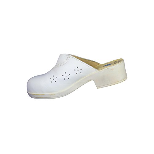 Jallatte Claudia Lisse PB Sicherheitsschuhe Berufsschuhe Sandale Weiß B-Ware Weiß