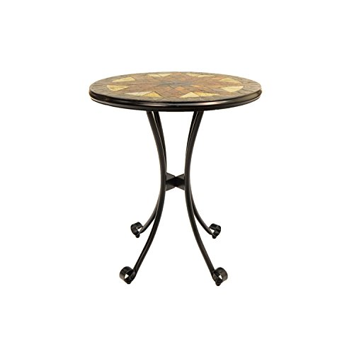 Europa Leisure Montilla Bistro Table - 60 x 60 x 73 cm - Earthy Tones