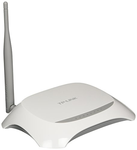 TP-Link TD-W8901N 150Mbps Wireless N ADSL2+ Modem Router (White/Grey) with Broadcom Chipset