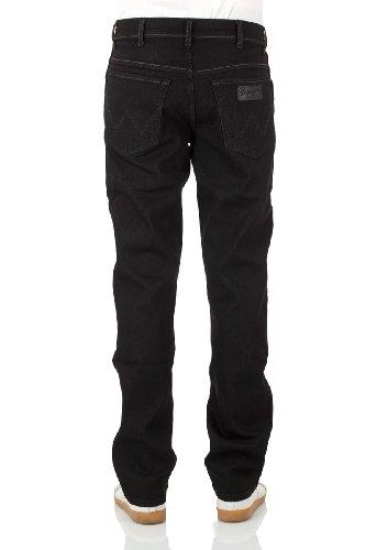 Wrangler - Texas Stretch - Jeans - Homme raven (44M)