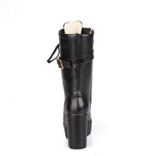 Unknown 1to9mns02558 - Sandales Compensées Femme Noires