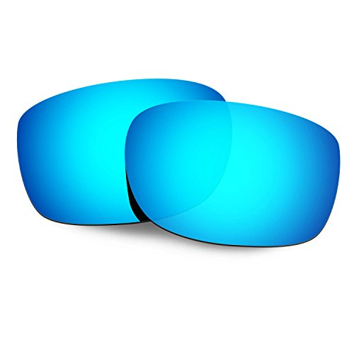 HKUCO Mens Replacement Lenses For Oakley Straightlink Sunglasses Blue Polarized