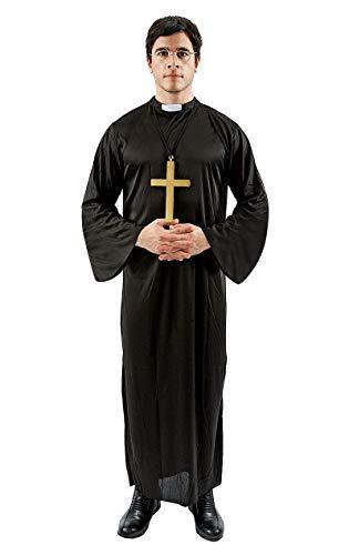 Unisex Erwachsene Pfarrer Kirche Religiösen Klerus Kostüm Verkleidung