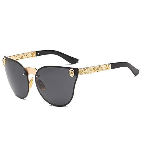 CHUIX Sonnenbrille, sechs Farben Anti-UV-polarisierte Sonnenbrillen Modetrend, geeignet für Männer und Frauen, die Sportreisen antreiben,Black
