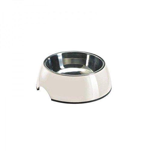 Hunter Melamin-Napf 1400 ml, einfarbig weiß (Hundenäpfe Große)