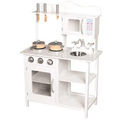 Mertens- Cocina de Madera Amélie con Accesorios, Color Blanco (83726)