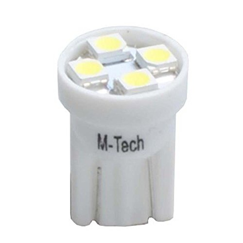 Tech l917 W LED-Lampe W5 W 4 xsmd3528 24 V, Set von 10