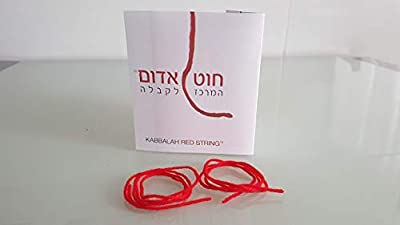 Bracelet KABBALAH Fil rouge, Rouge KABBALAH Bracelet, talisman, amulette, protection des yeux pervers, bonne chance, bonne chance, String rouge