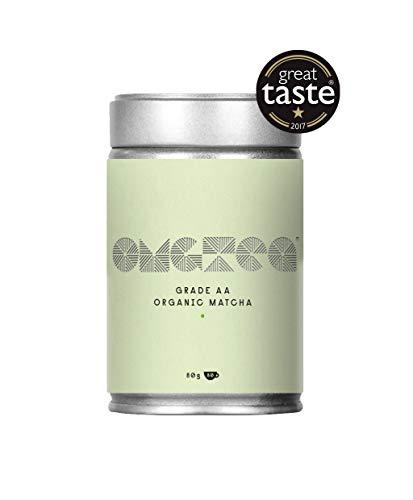 Polvere di tè verde Matcha bio - Premium Matcha giapponese di grado A 80g