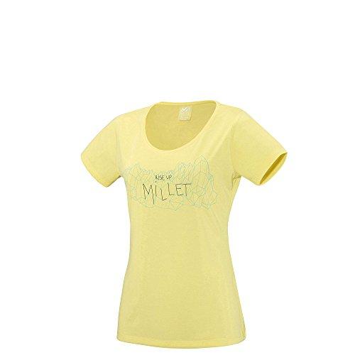 T-shirt Millet Ld Borah Peak Lime Light Jaune