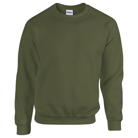 Gildan Blend TM Crew Neck Sweatshirt Erwachsene Militär Grün L L,Militär Grün -