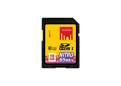 Strontium Nitro Plus UHS-I 16GB SD Memory Card (SRP16GSDU1)