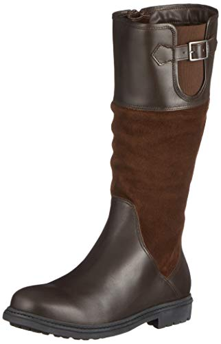 Aigle Parfield W Mtd, Bottes & Bottines Cavalieres Femme, Marron (Darkbrown), 41 EU