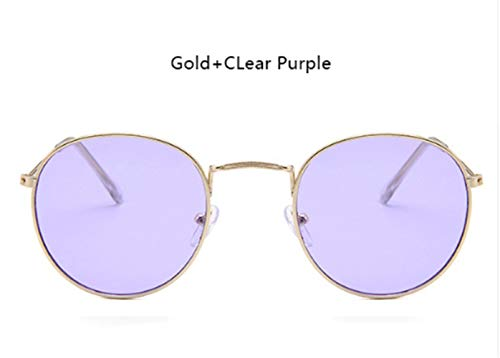 Wang-rx occhiali da sole specchio alla moda donna uomo occhiali da sole occhiali da sole rotondi femminili uv400 drivin 16 colori