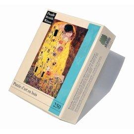 Puzzle Michèle Wilson-puzzle d'art en bois pour adultes-250 pièces-Le baiser KLIMT
